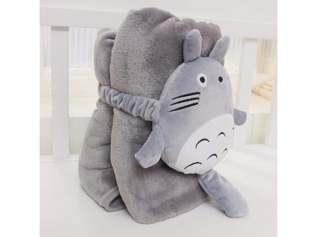 Rozprávková deka - Totoro