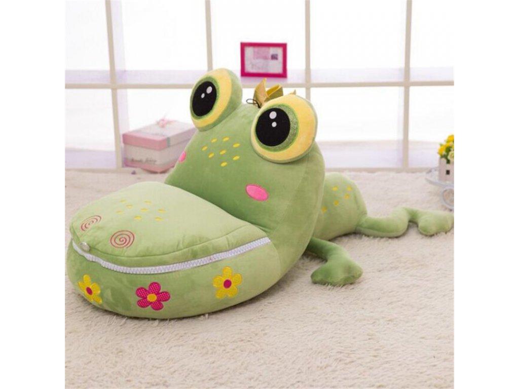 Detské kreslo Žaba veľká + hrnček ZADARMO
