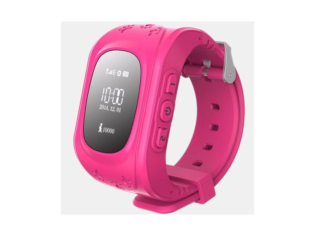 Kids GPS Watch Pink 1024x1024