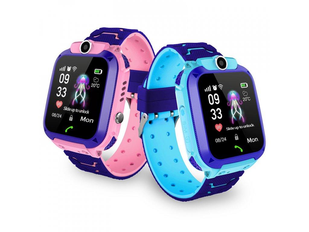 Inteligentné Smart hodinky pre deti Q528 s fotoaparátom a GPS
