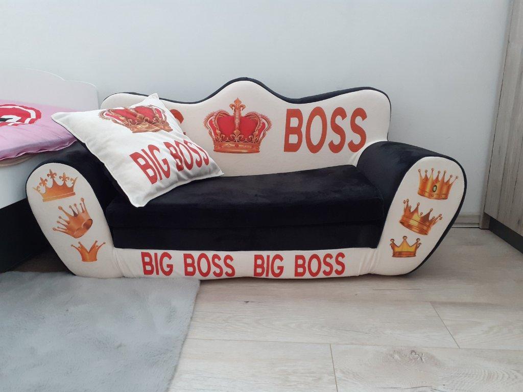 Veľká rozkladacia pohovka Big Boss