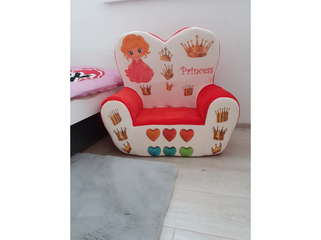Detská pohovka Princess