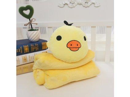 Rozprávková deka - kura