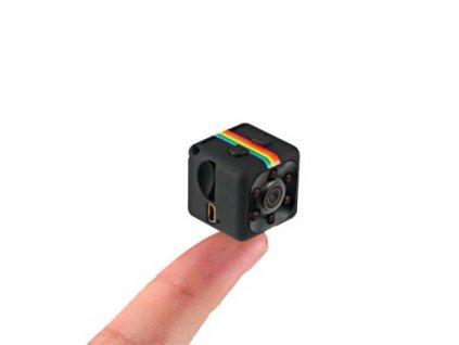 Športová mini HD kamera SQ11 - čierna