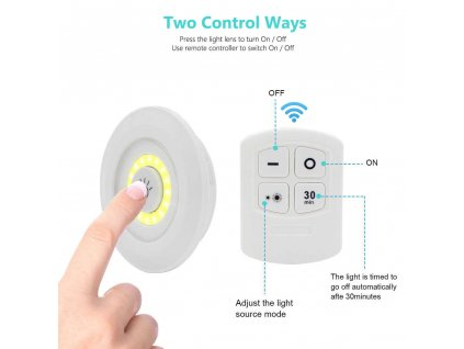 3 pcs Remote Control LED Night Light Bedside Lamp Closet Lights Super Bright Under Cabinet Lamp.jpg q50