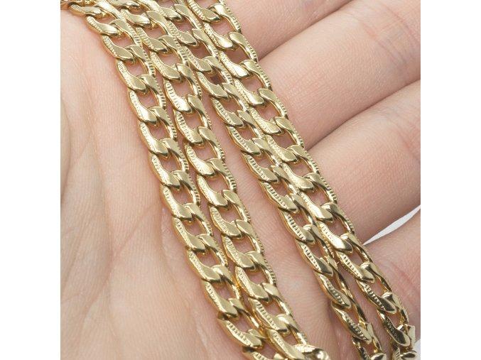Pánska Retiazka Steel Gold-60
