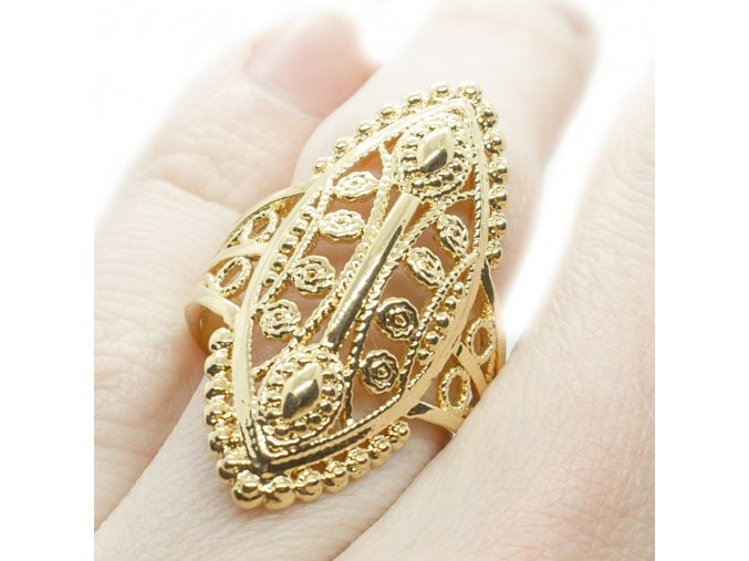 Prsteň Gold-450