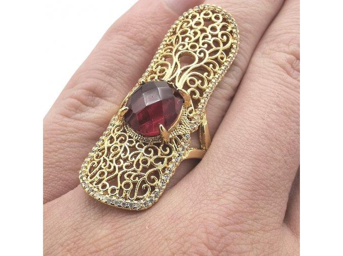 Prsteň Gold-4848