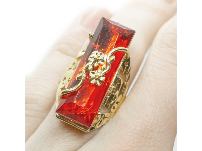 Prsteň Red Rose