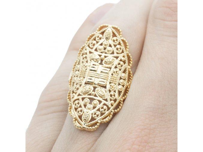 Prsteň Gold S-000