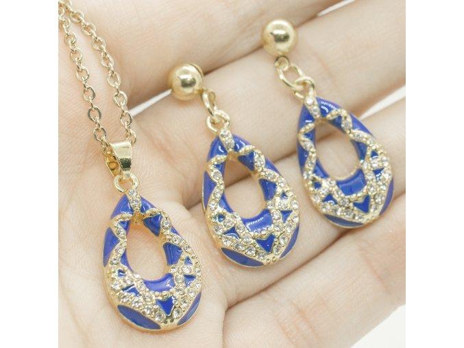 Gold Set Blue-333
