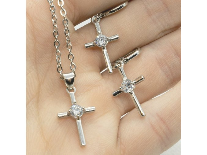 Silver Cross Set