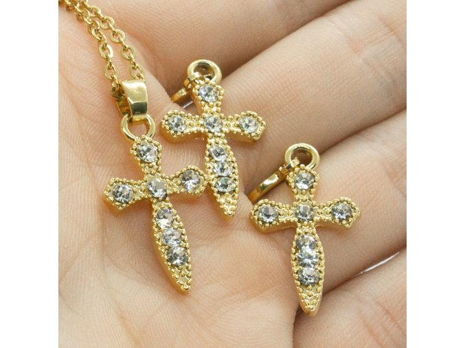 Gold Set Cross-78