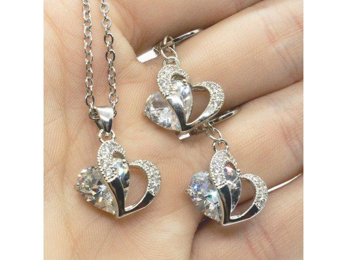 Silver Love White
