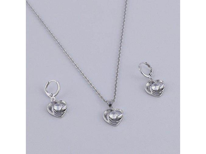 Silver Stone Heart-1