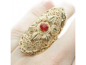 Prsteň Red EYE