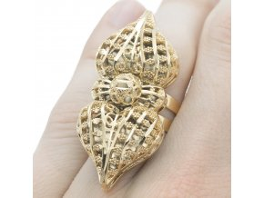 Prsteň Gold-22