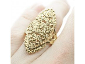 Prsteň Gold-242