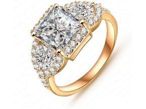 Prsteň Gold-33