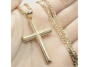 Retiazka Gold Cross-22