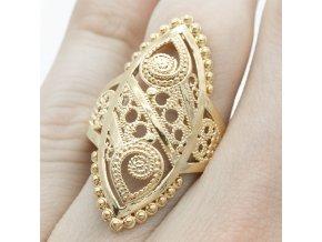 Prsteň Gold-1182