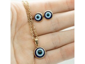 Steel Set Gold EYE