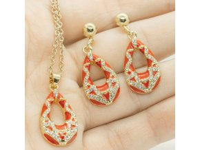 Gold Set Red-333