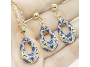 Gold Set Blue-333