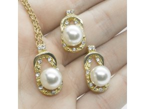 Gold Pearl Set-44