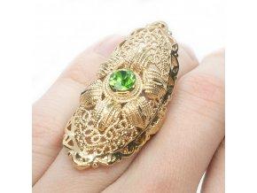 Prsteň Green EYE