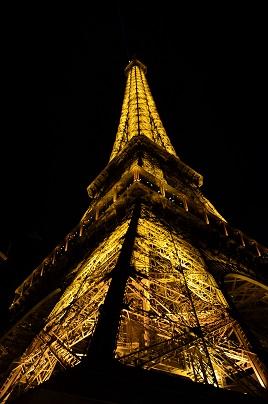 Paříž noc