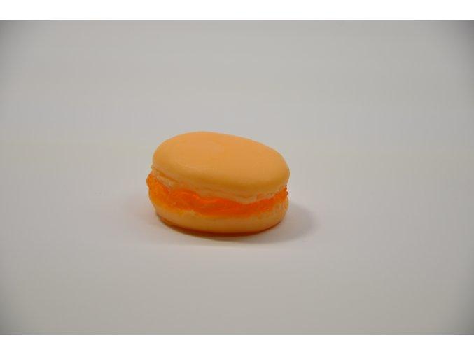 Mandarinka-Pomeranč Makronek (dekorace)