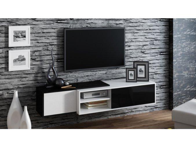 Závěsná skříňka pod televizor/rádio SIGMA 1A