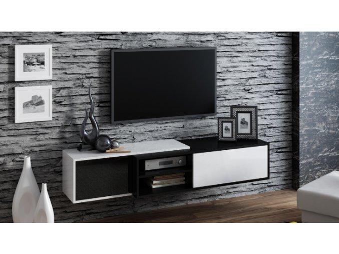 Závěsná skříňka pod televizor/rádio SIGMA 1B