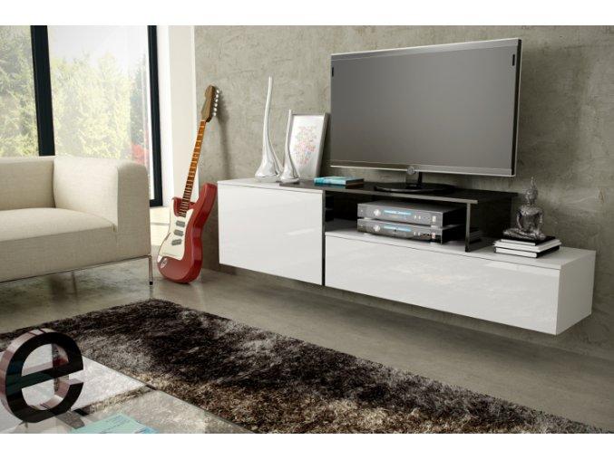 Závěsná skříňka pod televizor/rádio SIGMA 3A