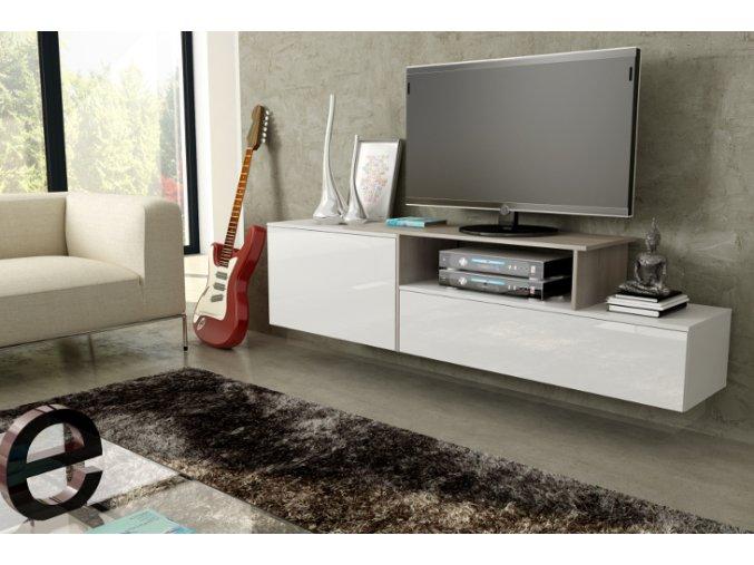 Závěsná skříňka pod televizor/rádio SIGMA 3B