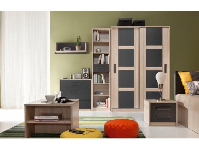 Moderní nábytek do dětského pokoje BREGI 2
