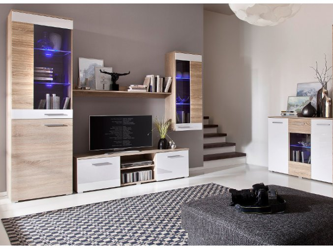 Moderní nábytek do obývacího pokoje BRICO 7