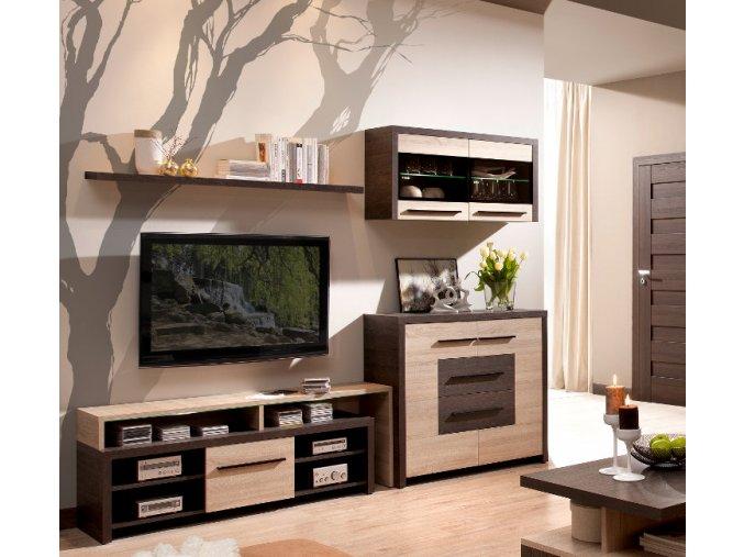 Luxusní obývací stěna KOLDER sestava 5