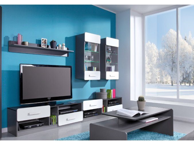 Moderní obývací stěna LIDO 3