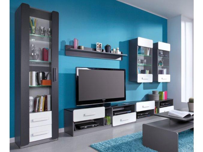 Luxusní obývací stěna LIDO 4