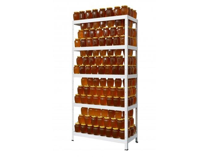DRUMY 1800x900x400 bílá láhve
