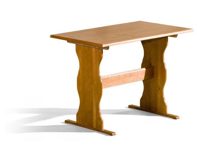 Stůl Max 60x100 s laminovanou deskou Palisandr