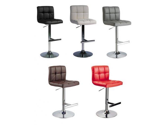 Barová židle C-105 Šedá