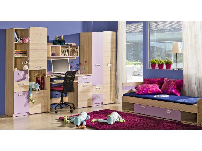 Elegantní dětský pokoj LORENTO sestava 4