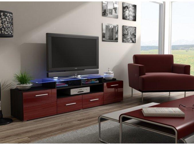 Stylový stolek pod televizor/rádio EVORA 11