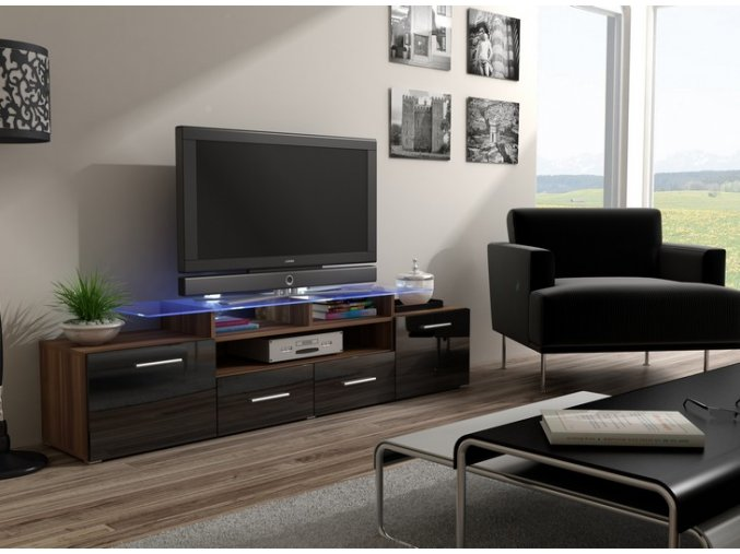Nadčasový stolek pod televizor/rádio EVORA 13