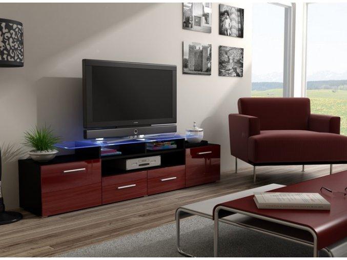 Luxusní stolek pod televizor/rádio EVORA 7