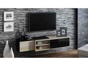 Závěsná skříňka pod televizor/rádio SIGMA 1C