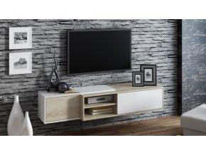 Závěsná skříňka pod televizor/rádio SIGMA 1D